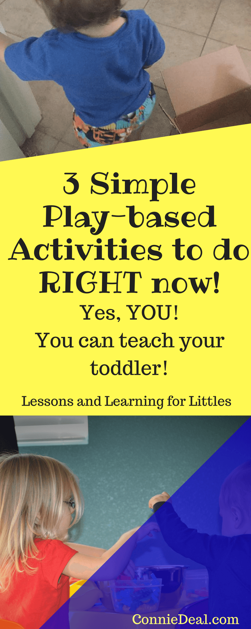 3 Simple Playful Learning Activities To Do RIGHT Now