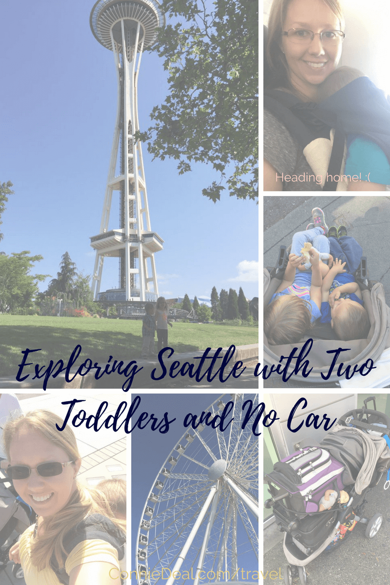 Heading to Seattle with kids? What can you do in 4 days, without a car? Where are the best places to see in Seattle with toddlers? #Seattle #Toddlers #travel #familyvacation
