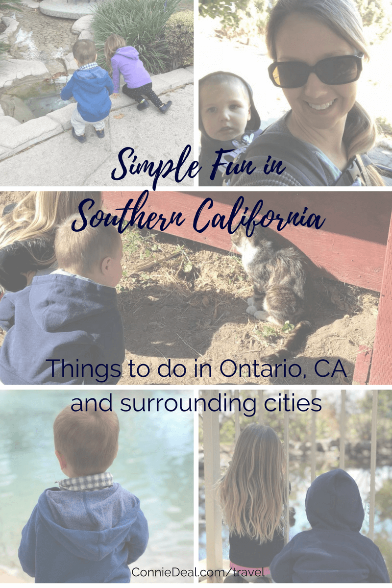 Southern California isn't all crowds, being stuck in hours of freeway traffic and Disneyland. Head off the beaten path a bit and explore some of the smaller sites and things to do, especially if you're fortunate enough to tag along on a business trip to Ontario, CA! Take the kids and have fun exploring Southern California in a more budget-friendly way! #SouthernCalifornia #OntarioCalifornia #travel #SpringBreak #travelingwithtoddlers #familyvacation