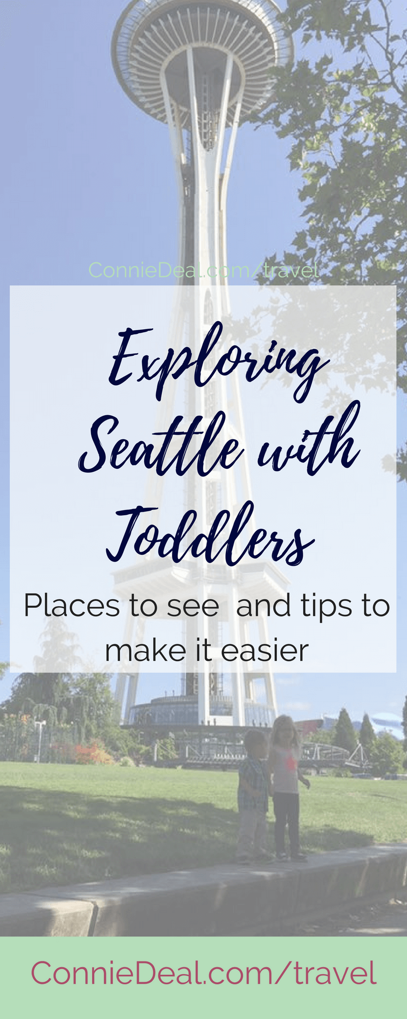 Thinking of visiting Seattle with kids? Is it doable? What are your best options? Find out in this post from a traveling mama with two toddlers! #Seattle #Seattlewithkids #sightseeing #travel #familyvacation