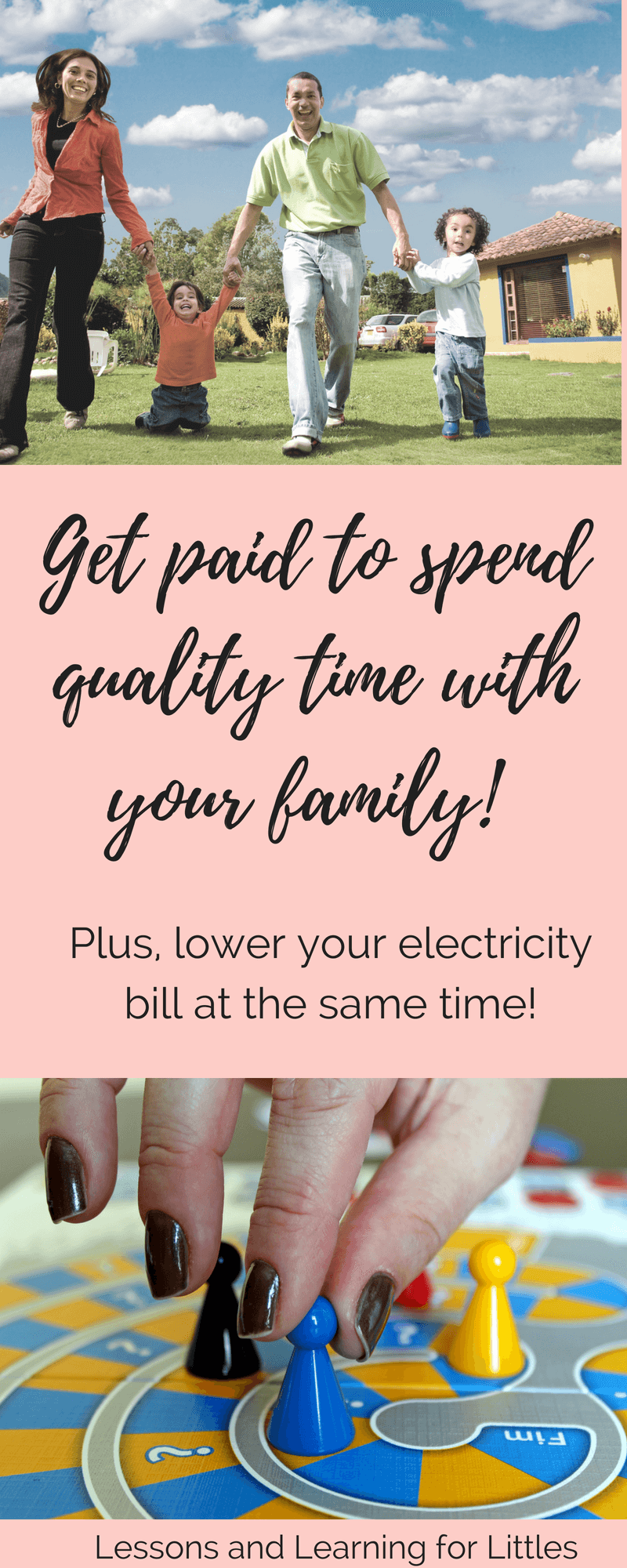 Lowering your electricity bills to save money and stay within your #budget is easier than you might think! Find out how I drastically reduced our electricity bill and added in quality family time each week! #familygoals #ohmhour #motherhood #sahm