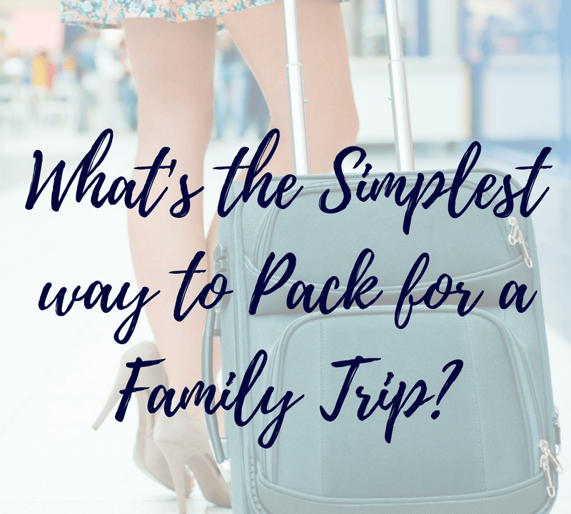 What's the best way to pack a suitcase and make sure you take the right stuff for the trip? How do you know if you've packed enough, but not too much? Learn my simple 5 step packing system to be prepared for your next #familytrip! #familytravel #toddlermom #travelingwithkids #summervacation #winterbreak