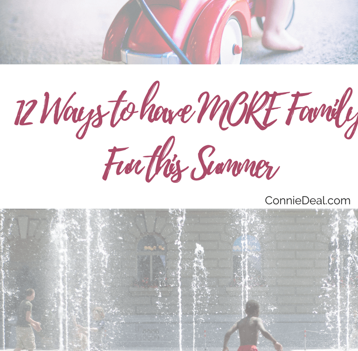 Kid-Approved fun activities for the whole family. Have more fun this summer with these easy and fun ideas from fellow moms! #summer #family #staycation